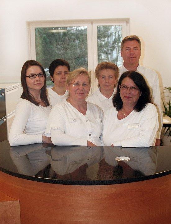Mitarbeiter der Praxis in Hannover